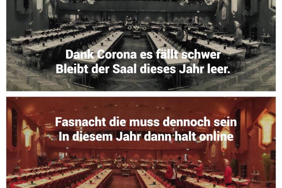 1. traditionelle Online-Prunksitzung